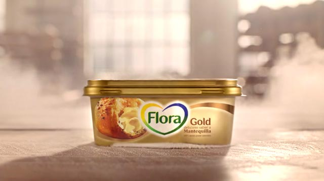 Bote de Flora Gold