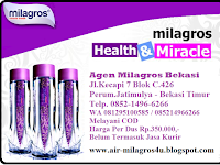 Kami adalah Agen Distributor Air Milagros Bekasi