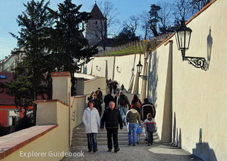 Old Castle Stairs Prague Castle