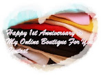 @30 june : 1st Anniversary My Online Boutique Contest