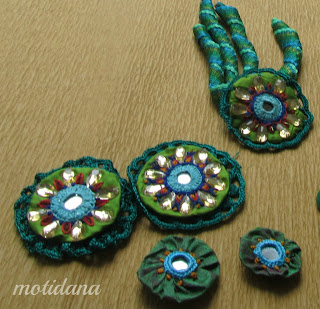 unique jewelry, Indian embroidery, mirror work embroidery