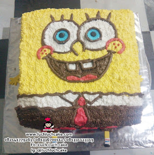 Spongebob 3d Cake Buttercream