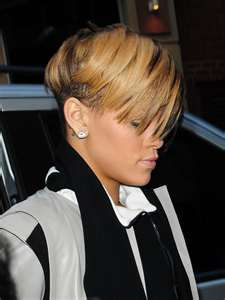 Rihanna Undercut Hairstyle