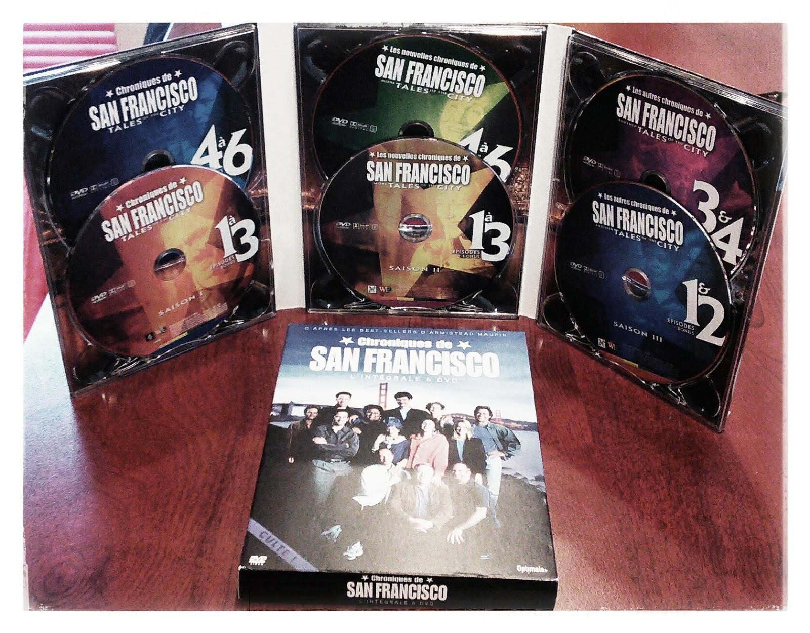 Les chroniques de San Francisco - la série - saisons 1-2-3 dvd