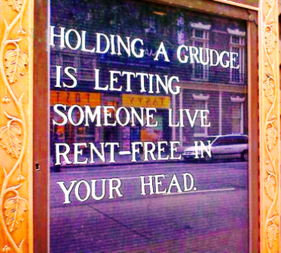 how to not hold a grudge