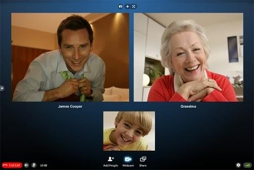 conversacion a tres Skype