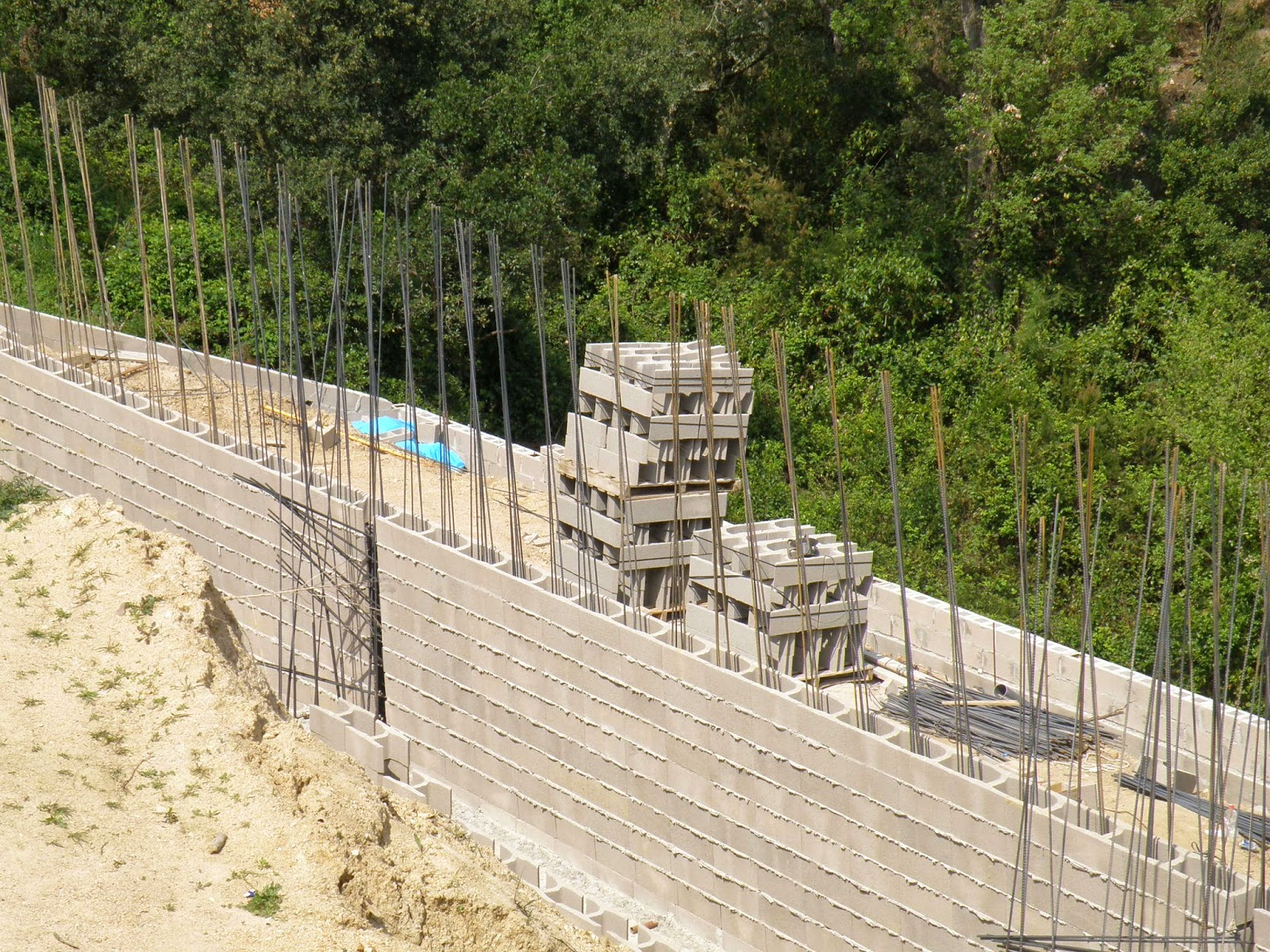 Remiendos anticrisis muro de bloques de 30 tipo h - Muro de bloques ...