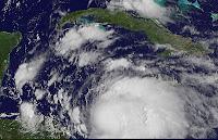2012, aktuell, Atlantische Hurrikansaison, August, Belize, Ernesto, Honduras, Hurrikansaison 2012, Live, Live Ticker, Nicaragua, Satellitenbild Satellitenbilder, Vorhersage Forecast Prognose, Yucatán