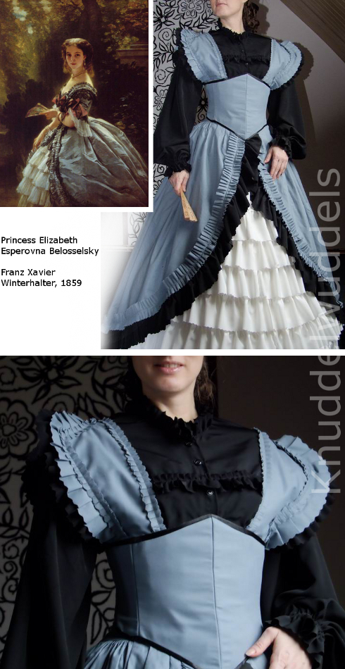 Kleid nach Franz Xavier Winterhalter
