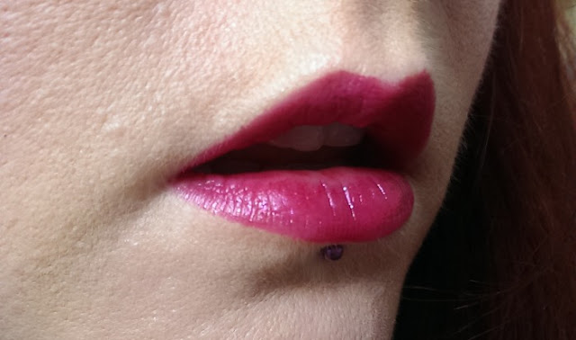 Smooch merlot on the lips
