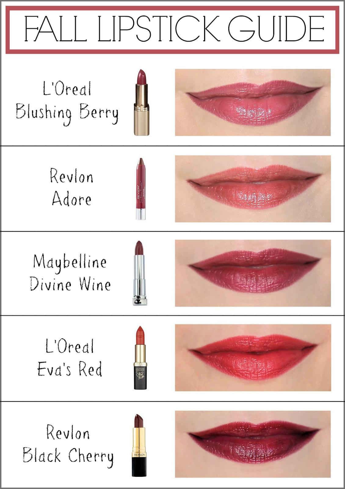 Fall Lipstick Colors For Fair Skin