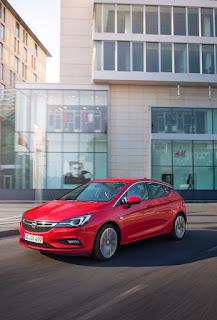 Ασφαλέστατο το Opel Astra σύμφωνα με το Euro NCAP