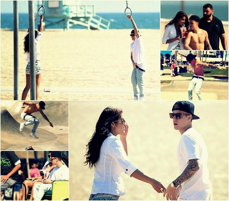 Justin Bieber na randce z Yovanną Venturą