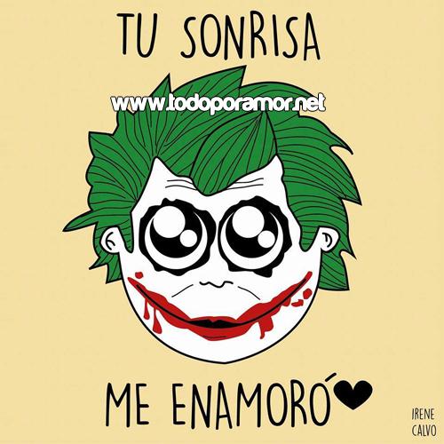 Tu sonrisa me enamoro
