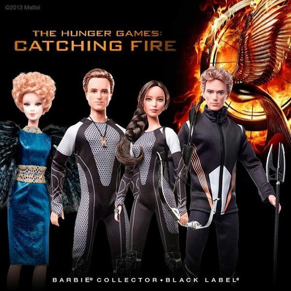Katniss Peeta Finnick and Effie BARBIE Dolls  sc 1 st  District 12 & Welcome to District 12: Katniss Peeta Finnick and Effie BARBIE Dolls