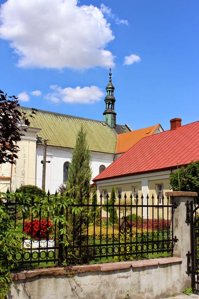 old church, countryside, poland, summer, todaymyway.com