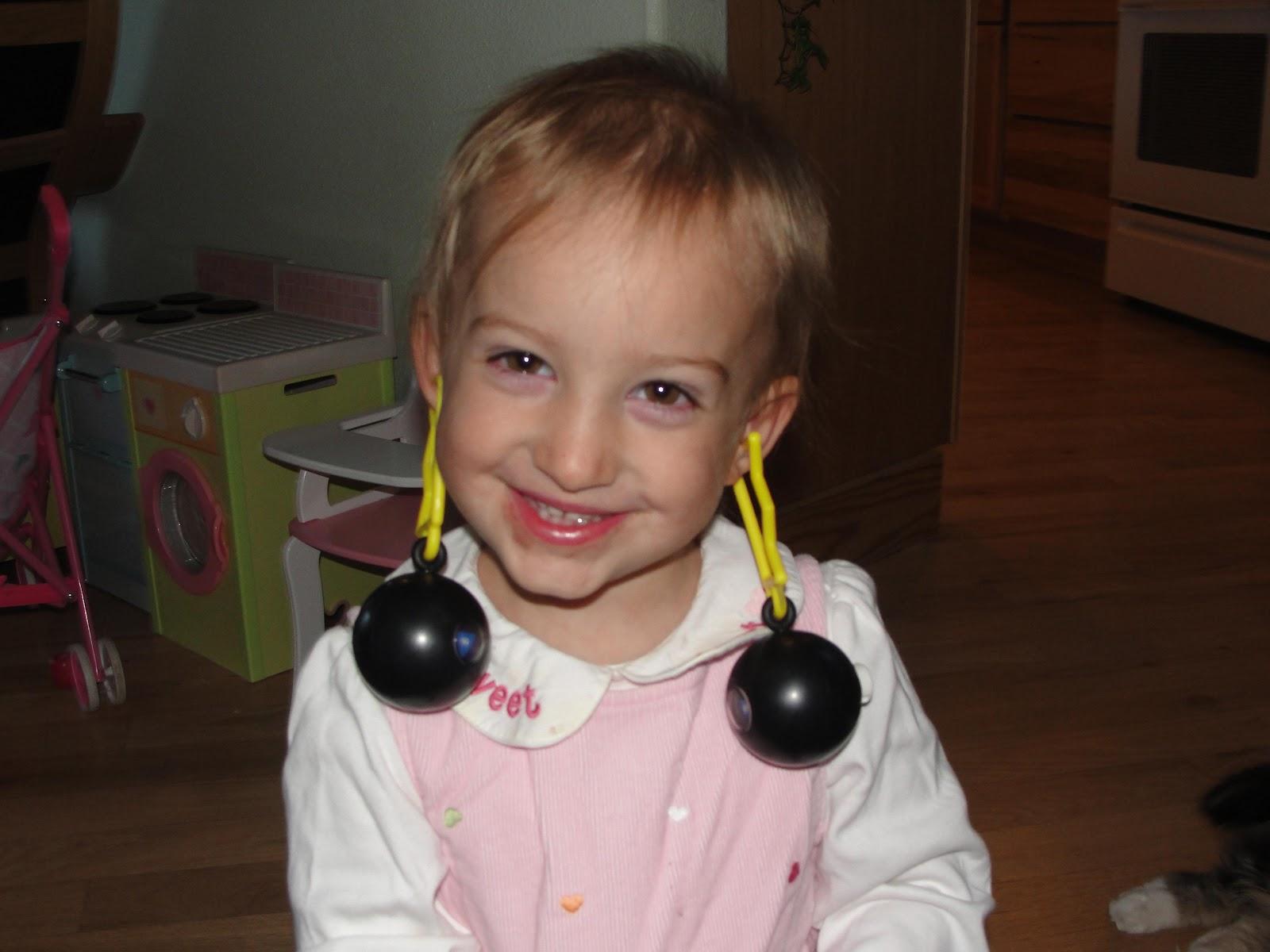 Boldly Going Like Mother Daughter Earrings