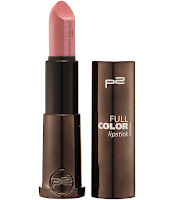 p2 Neuprodukte August 2015 - full color lipstick 100 - www.annitschkasblog.de