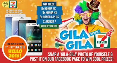 Gila-Gila with 7-Eleven Contest