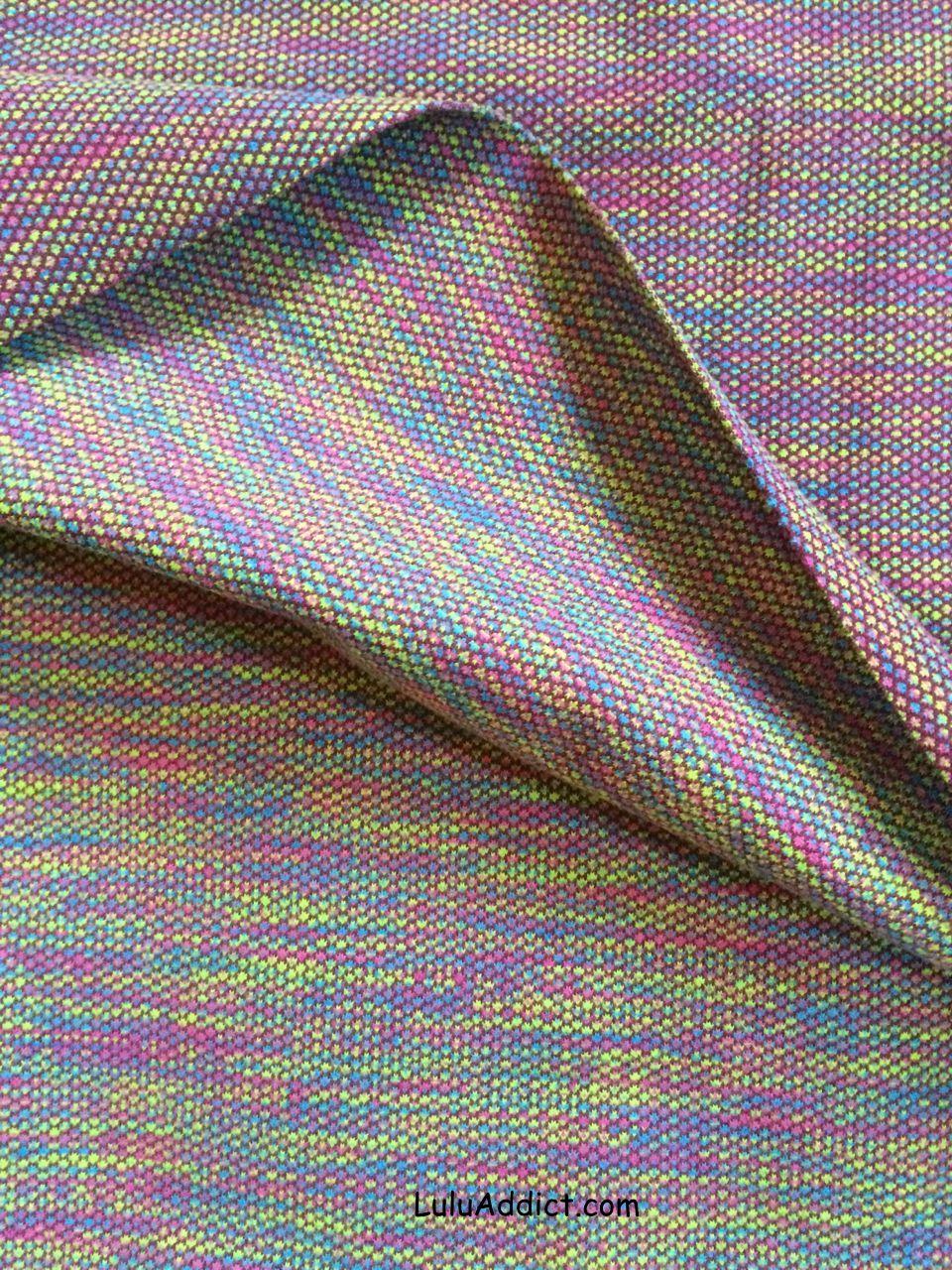 ivivva plum jacquard scarf