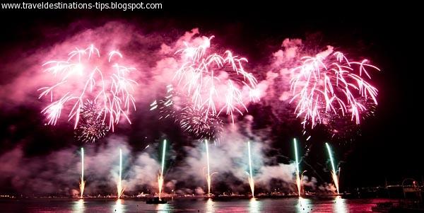The Festival International Fireworks Festival