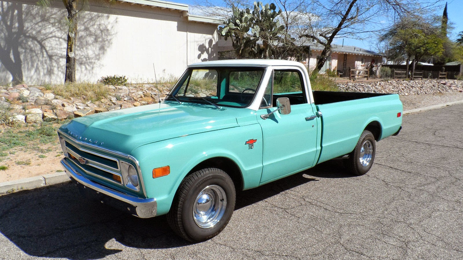 All American Classic Cars 1968 Chevrolet C10 Pickup Truck Chevy 4x4 Conversion