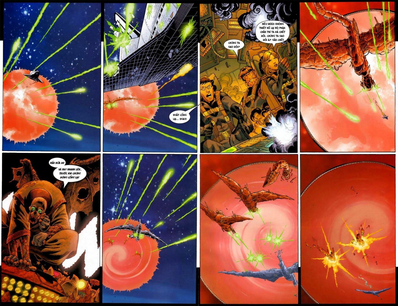 Ultimate Fantastic Four chap 18 - Trang 4