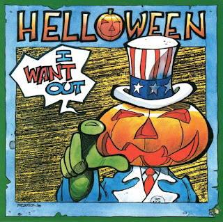 Portada del single I want out de Helloween