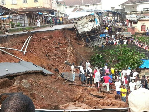 Image result for Sierra Leone landslide
