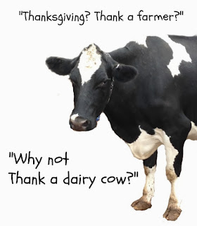thanksgiving thankafarmer thankadairycow