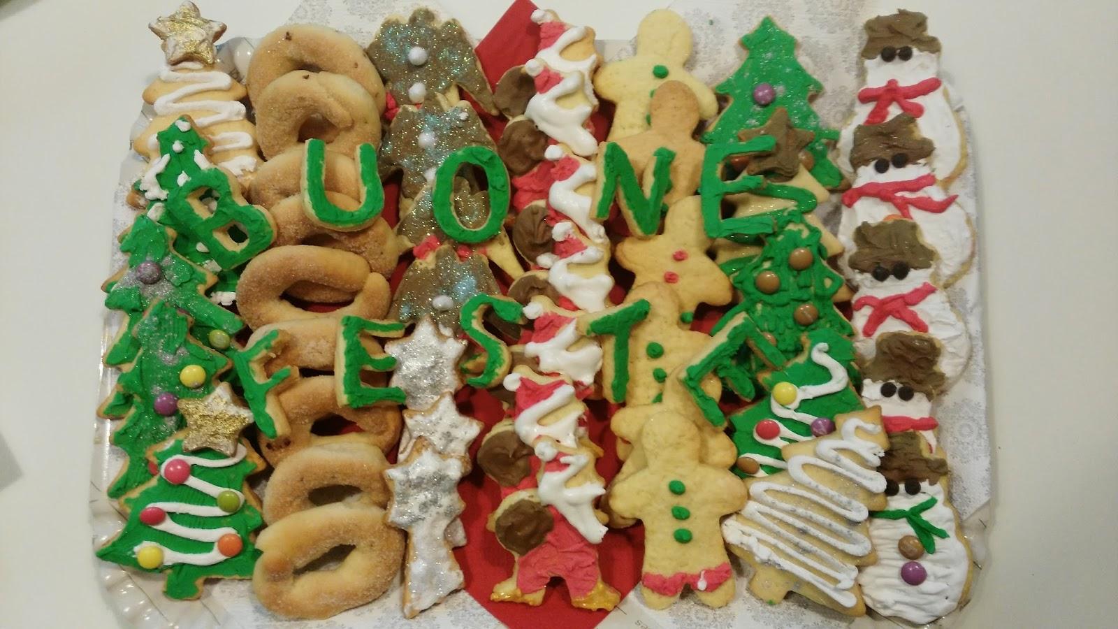 Giallo Zafferano Biscotti Di Natale.Biscotti Di Natale Pasticciando Con Irene
