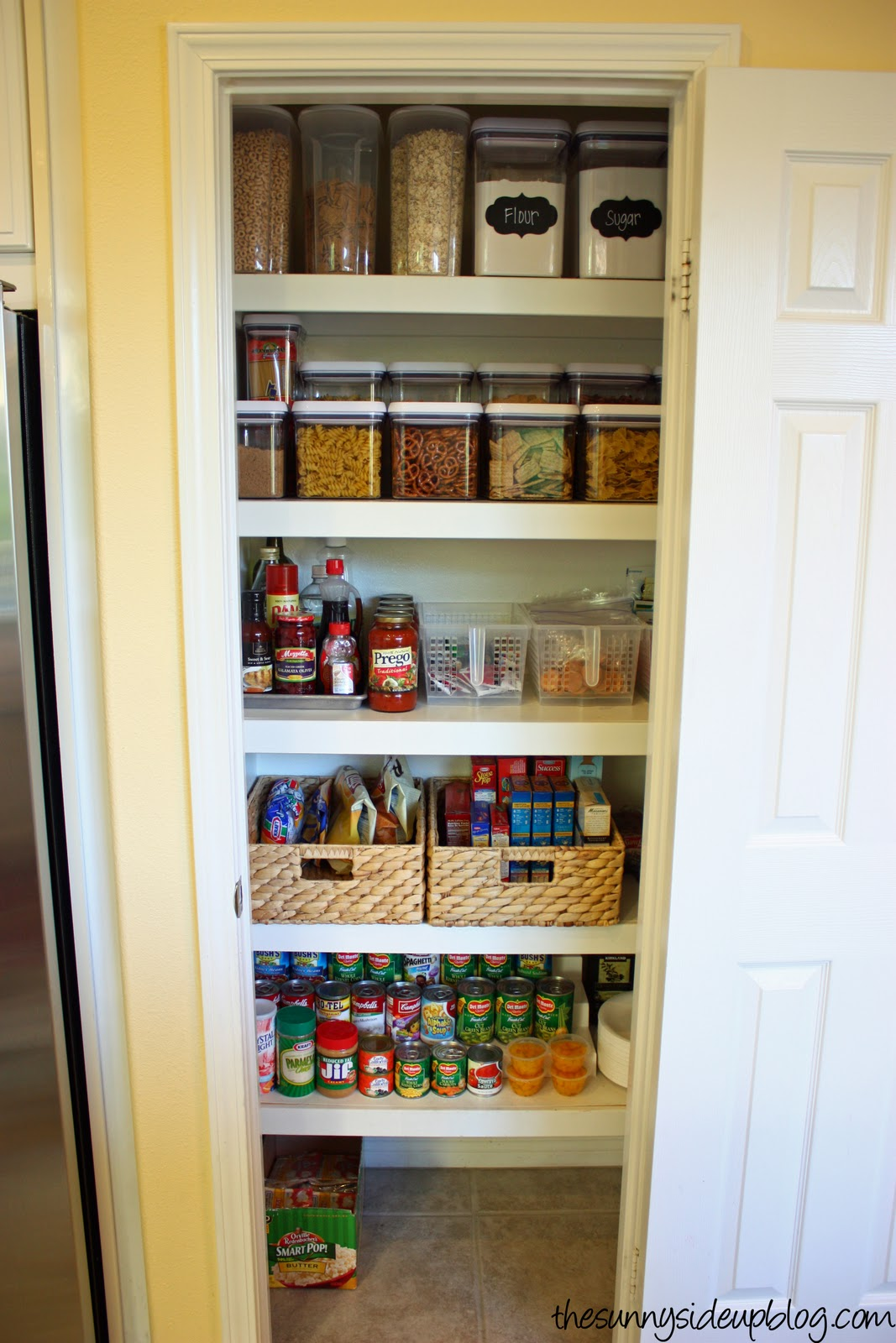Pantry organization the next level the sunny side up blog for New home construction organizer