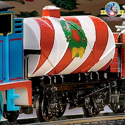 Bachmann HO scale Thomas the Tank Engine collectible set sugar candy cane red and white tanker truck
