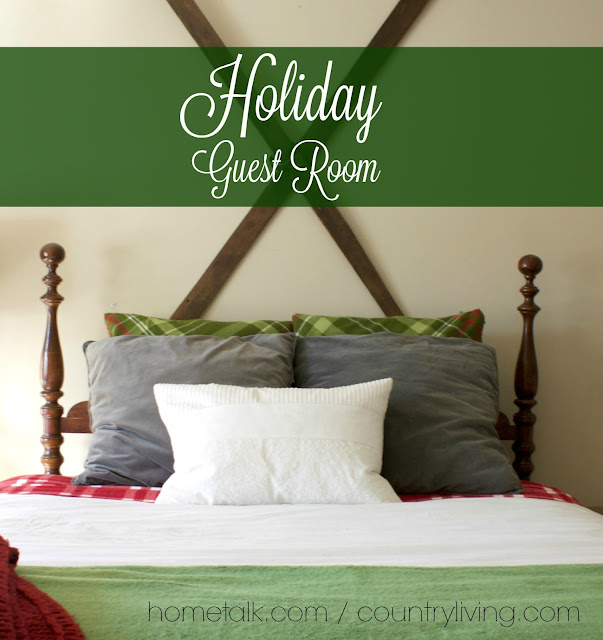 Holiday guest room, holiday decor, design, decorating, christmas