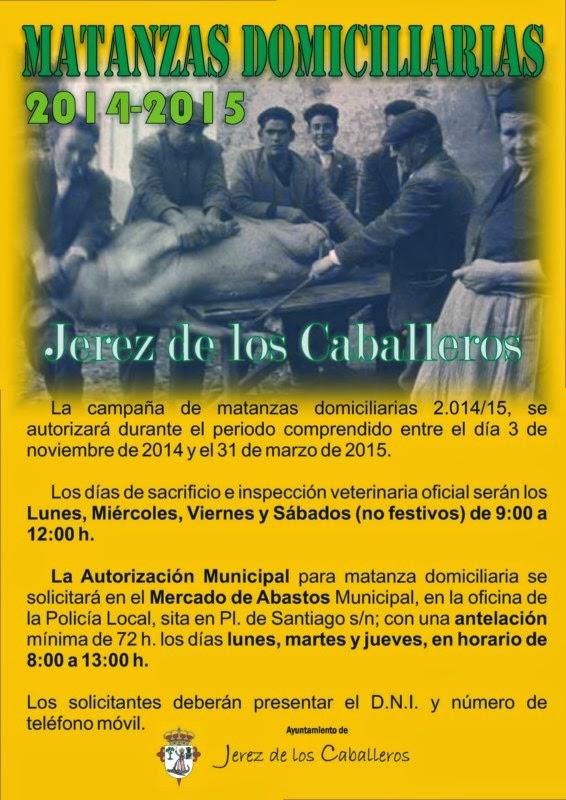 CAMPAÑA DE MATANZAS DOMICILIARIAS