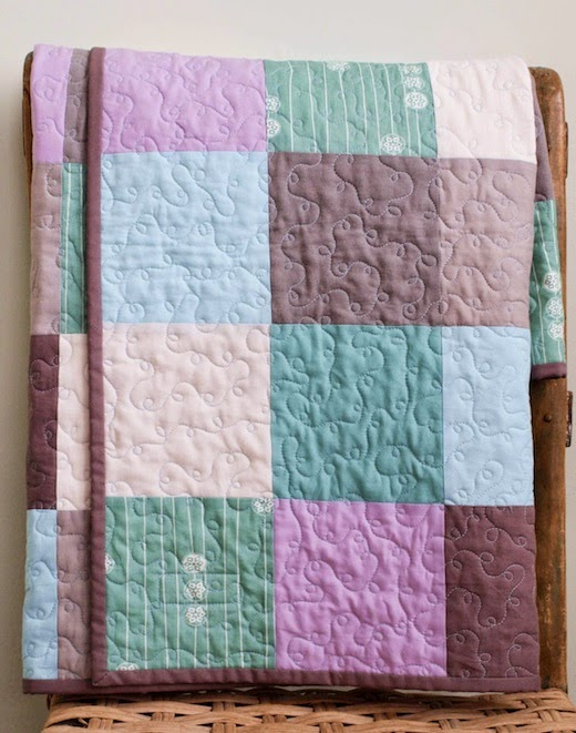 Organic Baby Name Quilt by Organic Quilt Company