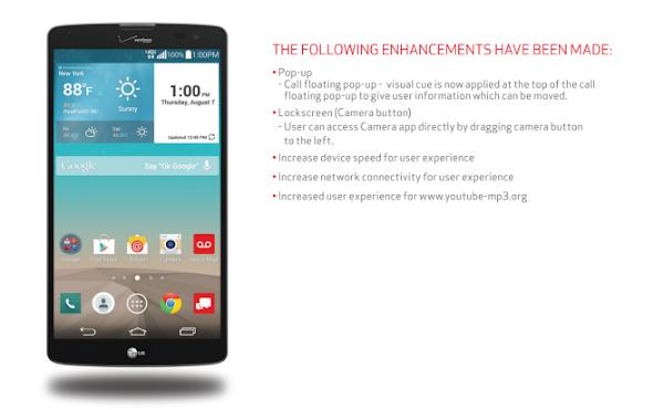 LG G Vista for Verizon updated