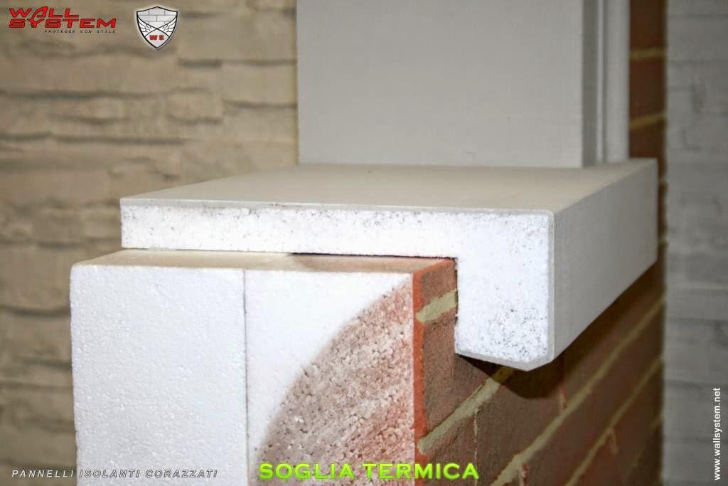 Cappotto termico fai da te coibentazione in classe a - Coibentazione davanzali finestre ...