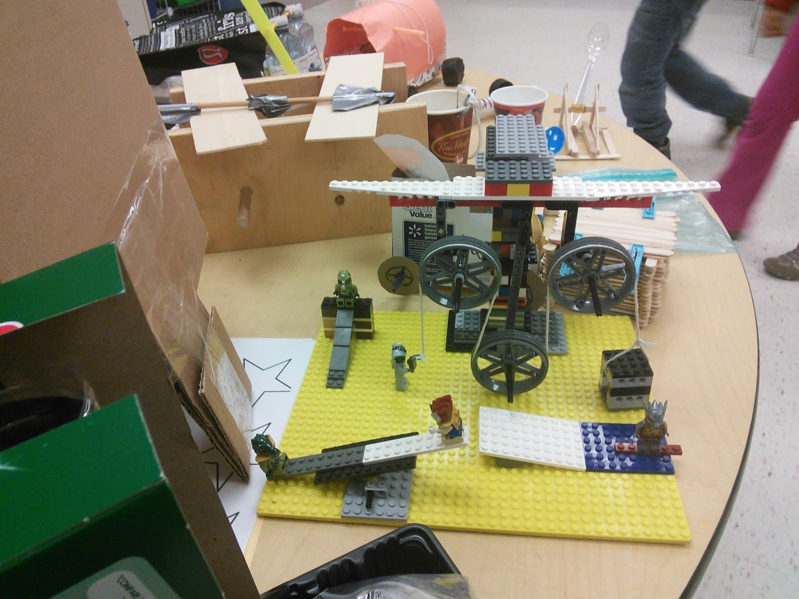 Check Out The Grade 2 Simple Machine Project