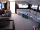 Elegant accomodations for entertaining on the Boat!