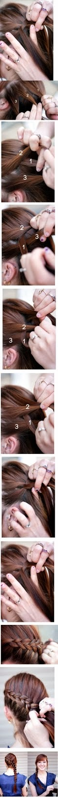 Learn long side ponytail hairstyle for ladies