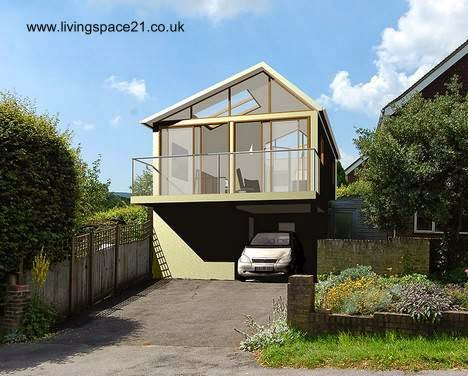 Casa pequeña sustentable en Inglaterra