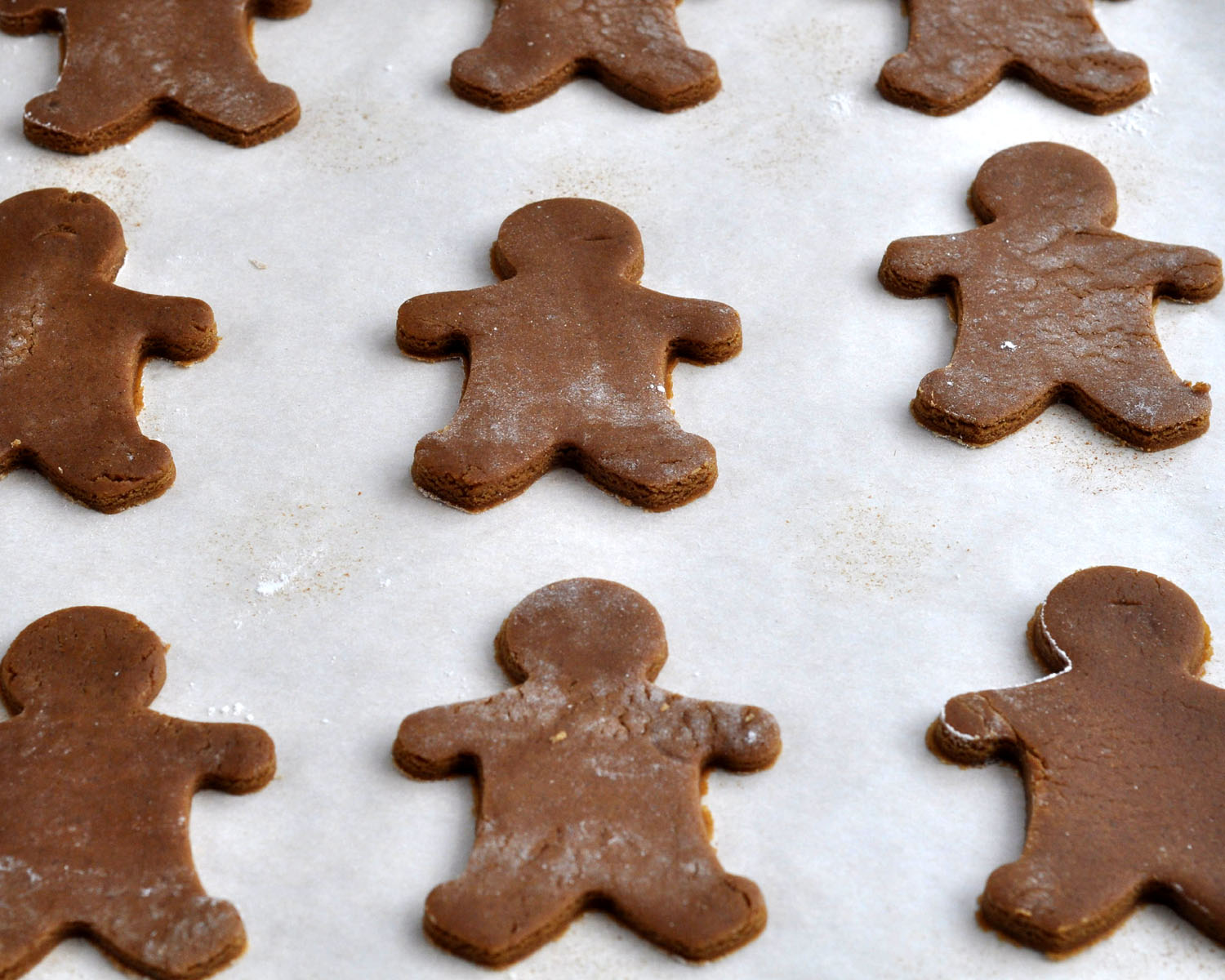 Gingerbread Man Cookie Template Cut the gingerbread men out