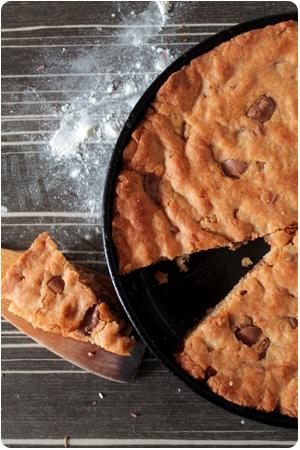 Pan Fried Chocoalte Chip Cookie - Schoko-Cookie aus der Pfanne