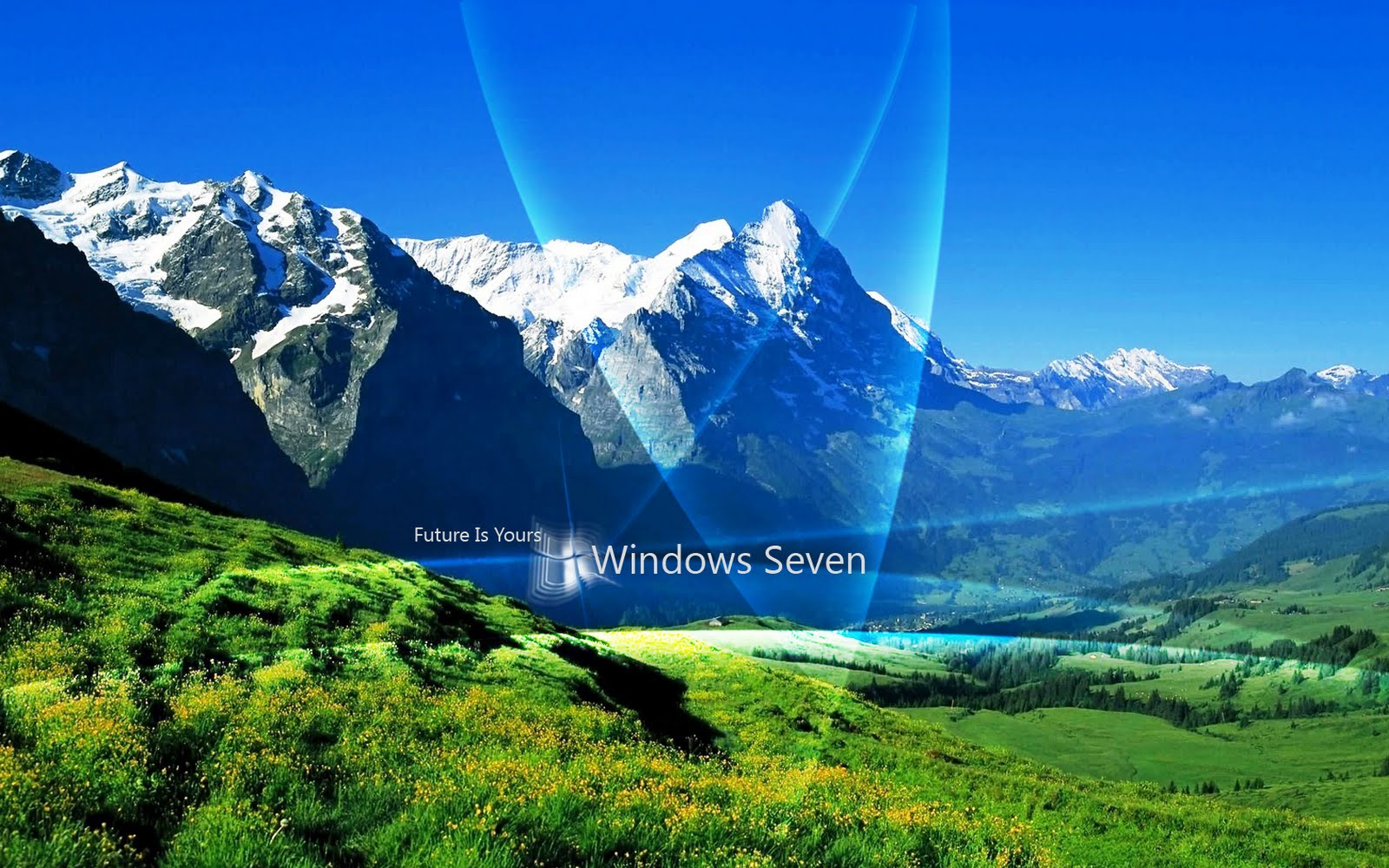 Panoramic Wallpaper Of Windows 7 Images Gallery