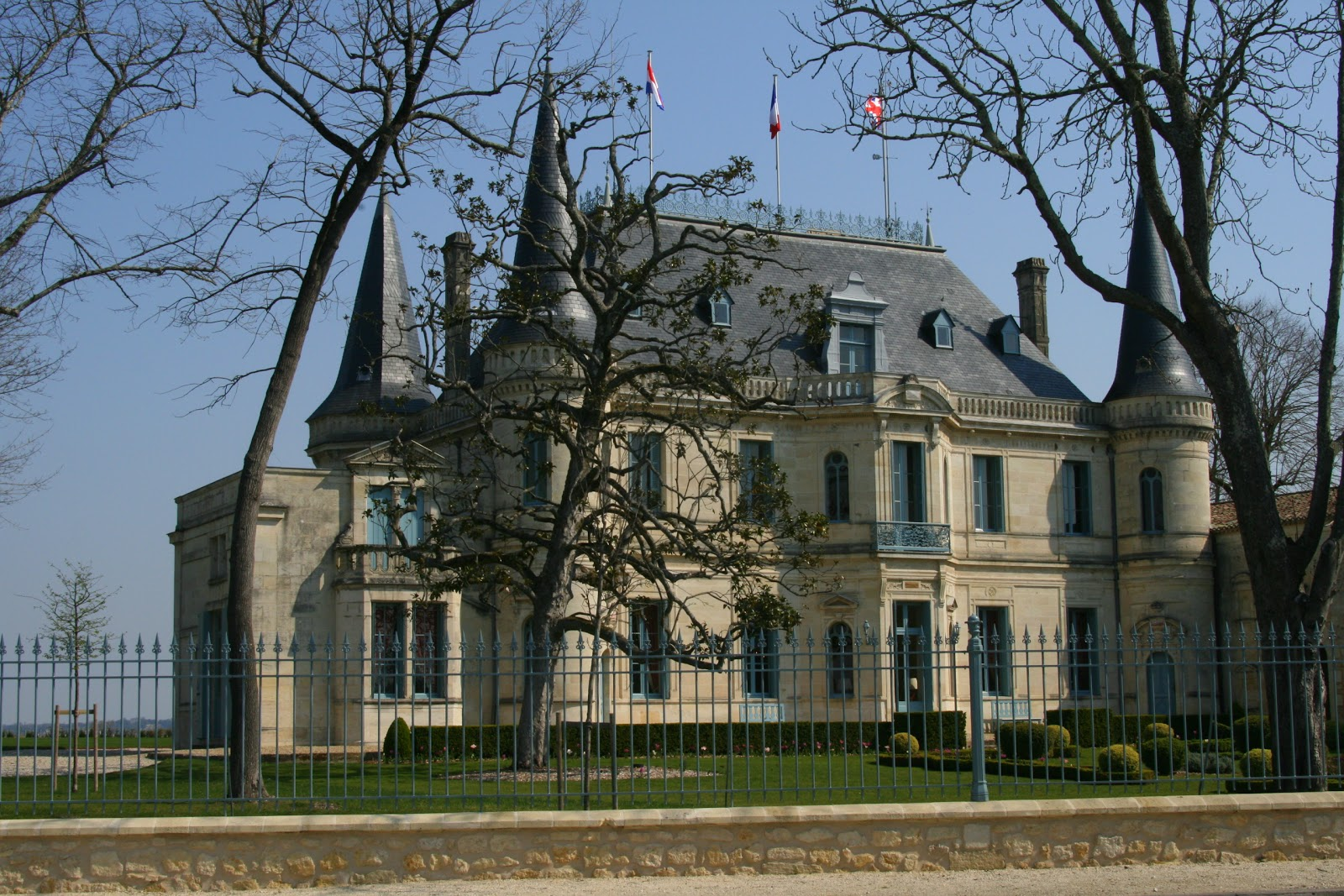 American mom in bordeaux medoc margaux wine country for Chateau margaux