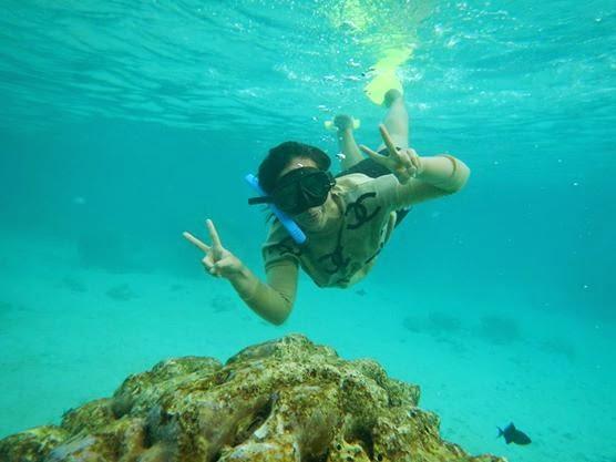 Snorkling Pulau berhala Sumatera Utara