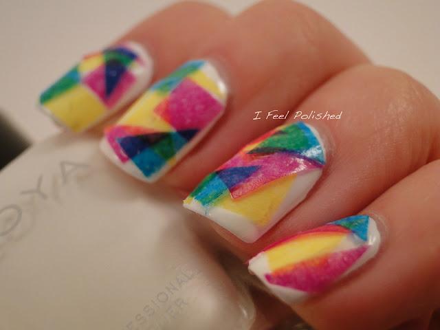 Tissue Paper Nails