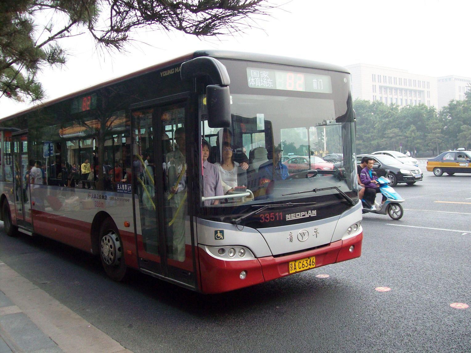 Gu a para sobrevivir en beijing los autob ses - Autobuses larga distancia ...