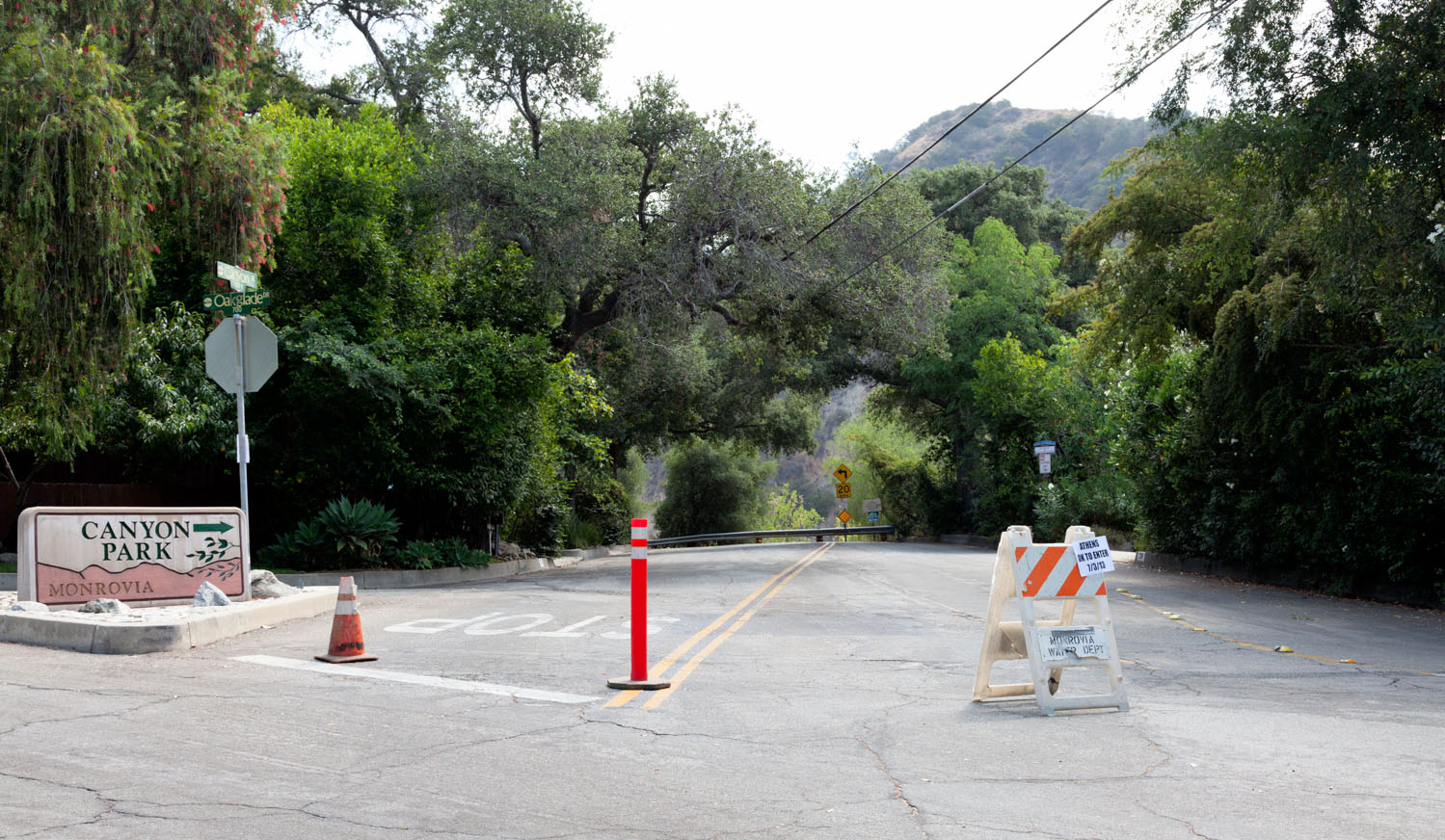 Monrovia Canyon Park Closed Over 4th Of July
